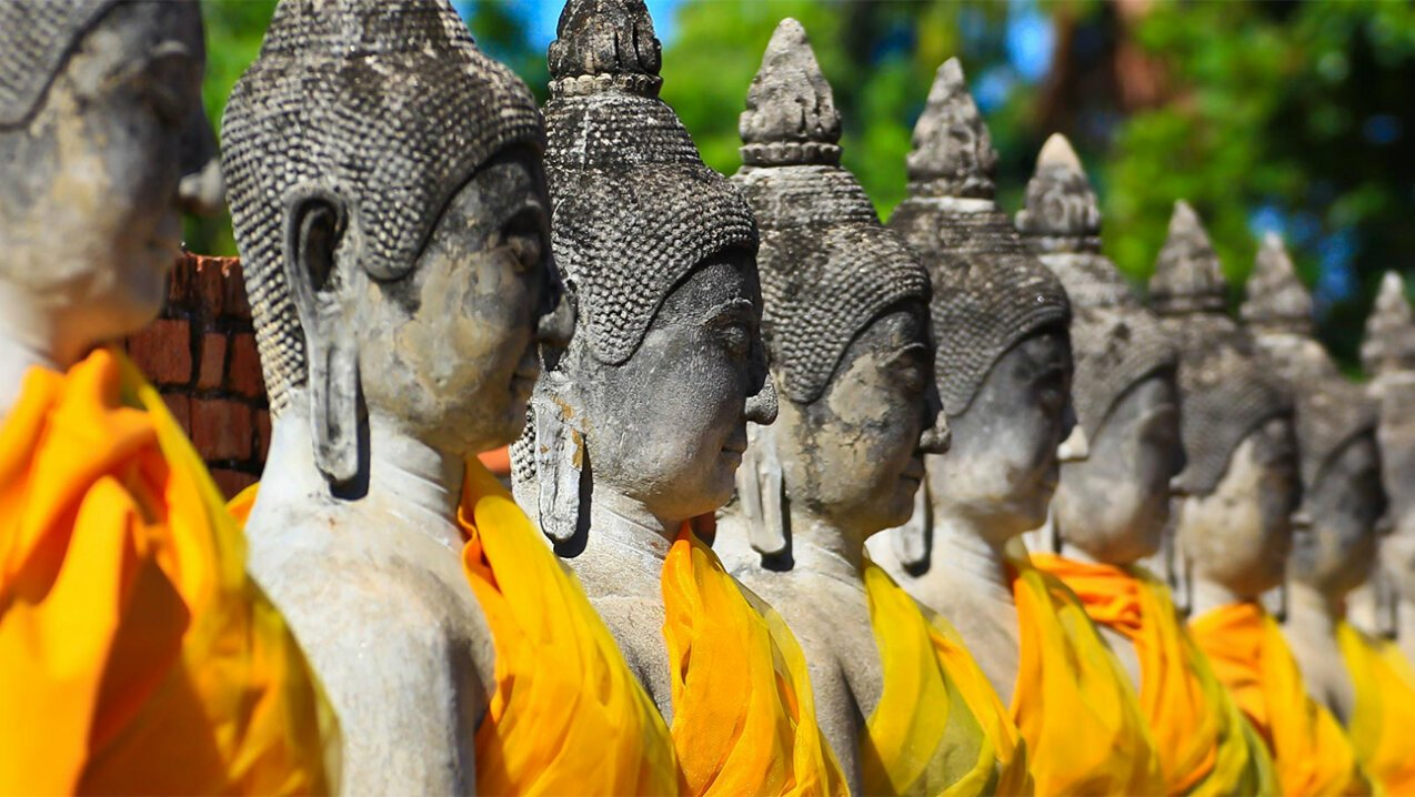 Traditional Thailand statues