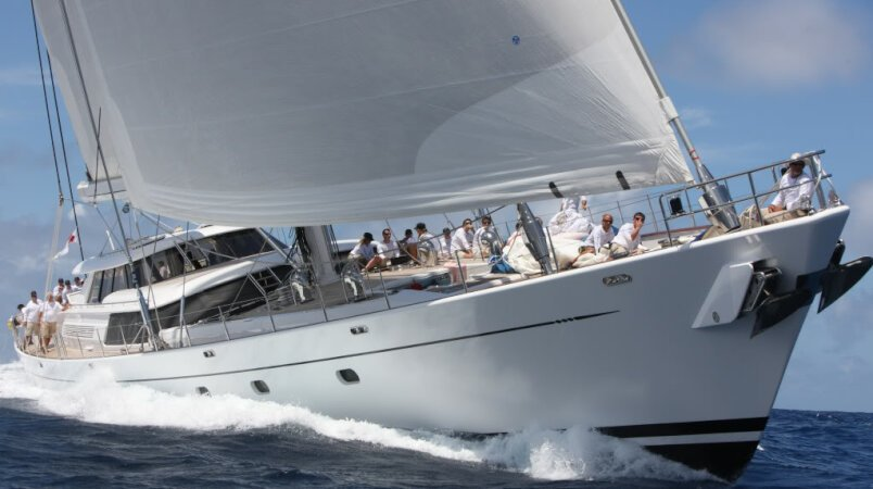 HYPERION at the St Barths Bucket