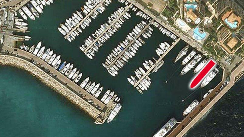 60m Berth in Cap D'Ail for Sale