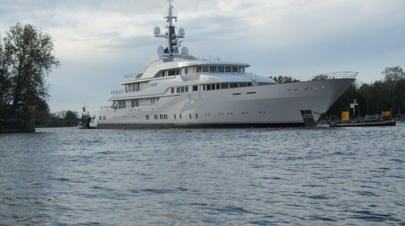 New 78M Feadship HAMPSHIRE II presented to the public
