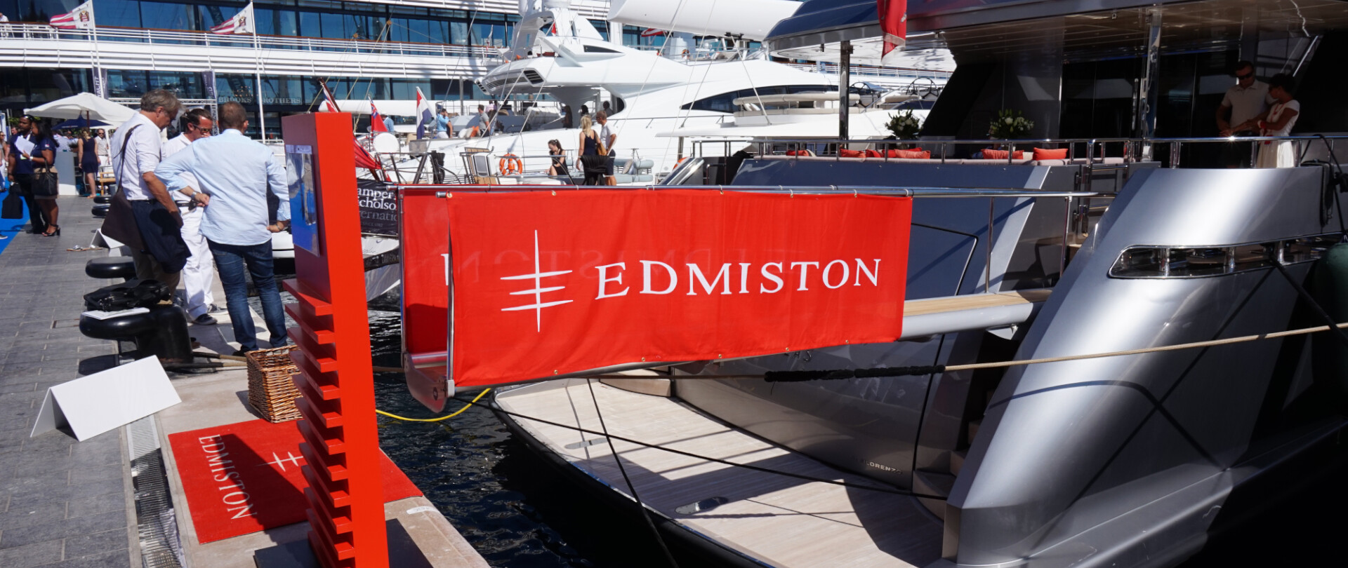 Edmiston at the Monaco Yacht Show 2015 photo 2