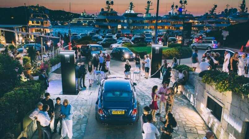 Edmiston & Rolls-Royce in Porto Cervo this summer.
