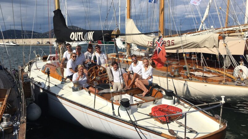 Edmiston Classic Yacht Team enjoy regatta success