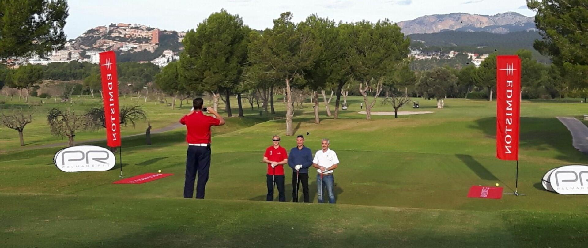Edmiston at the 2016 Palma Refit Golf Tournament photo 1