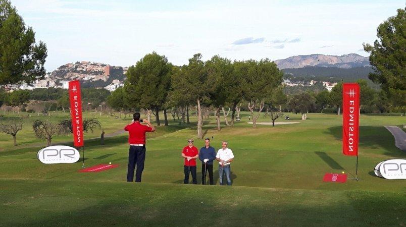 Edmiston at the 2016 Palma Refit Golf Tournament