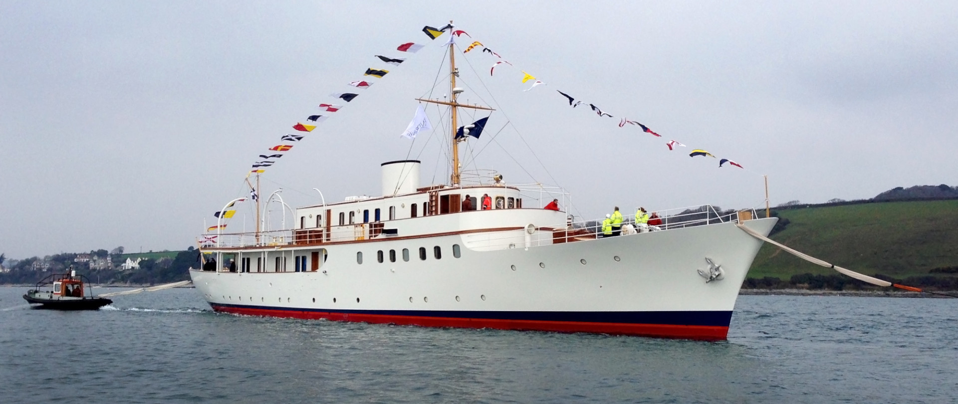 Classic Yacht MALAHNE Restored & Relaunched photo 1