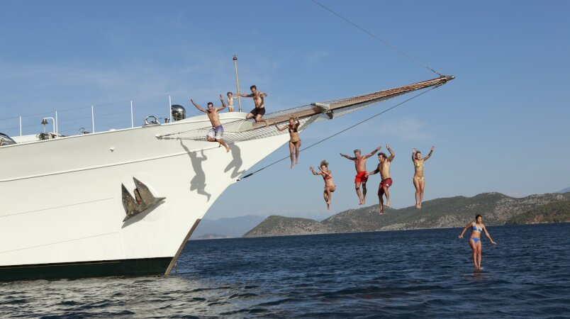 Book a September Charter on Board TALITHA