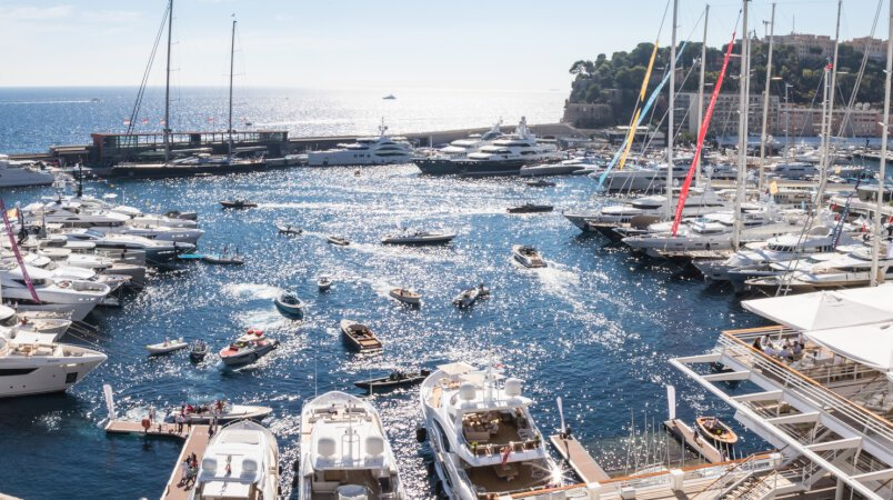 Explore the 2017 Monaco Yacht Show in style
