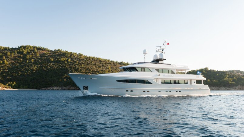 ALUMERCIA - Price reduction / At anchor during MYS 2017