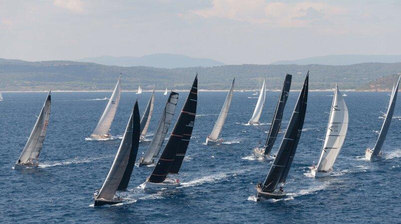Follow Les Voiles de St Tropez onboard MENORCA