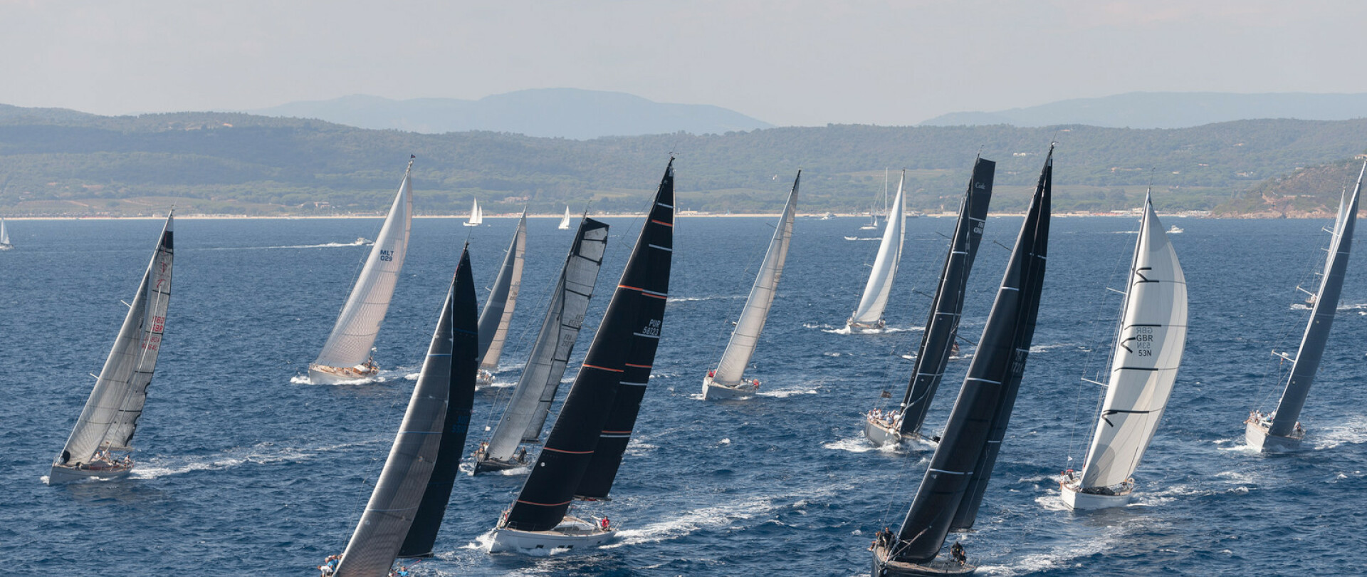 Follow Les Voiles de St Tropez onboard MENORCA photo 1