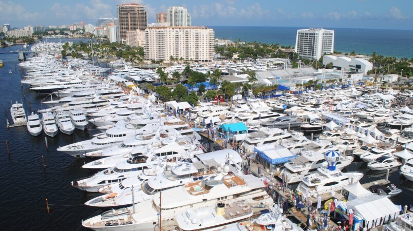 Edmiston at the 2017 Fort Lauderdale International Boat Show