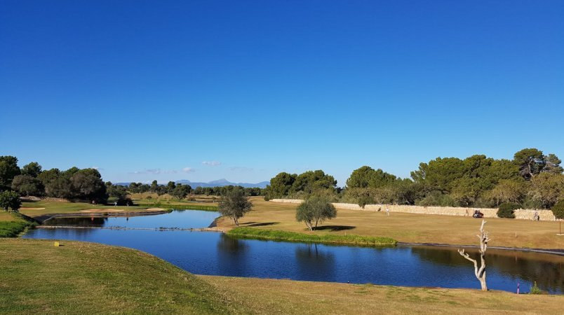 Edmiston at the 2017 Palma Refit Golf Tournament