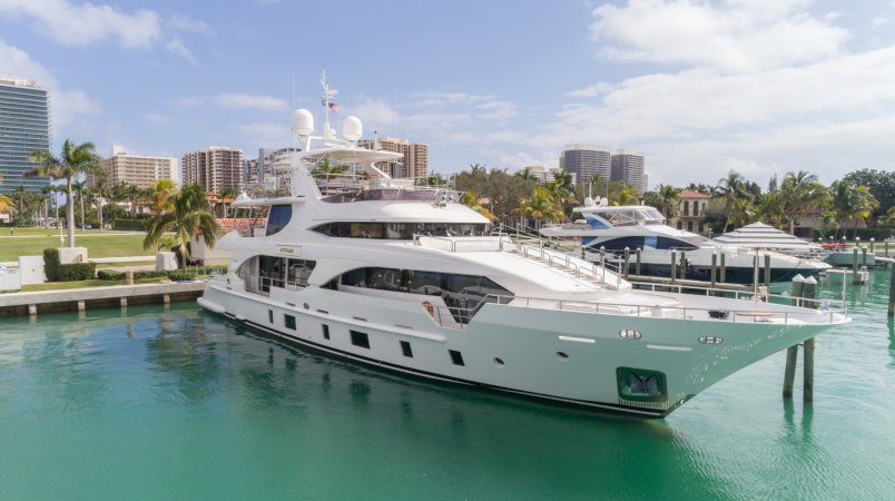 ATTITUDE - Available for viewings at the Miami Yacht Show