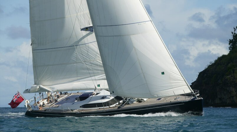 Si Vis Pacem - At anchor during the Cannes Yachting Festival