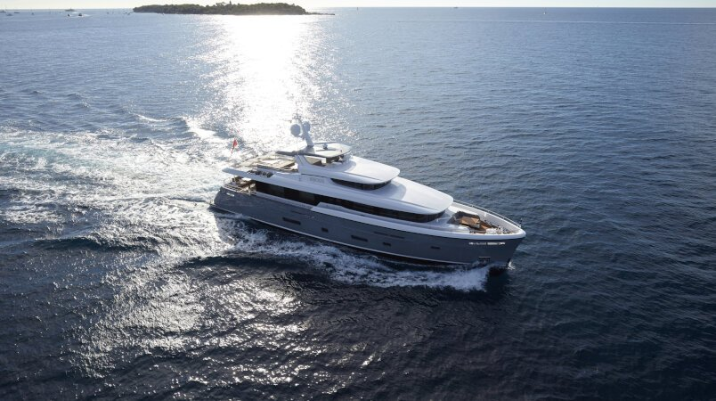 Bijoux II - At the 2018 Cannes Yachting Festival