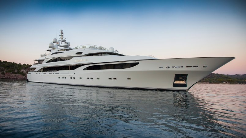 Lioness V, available to charter in the Caribbean this Christmas and New Year