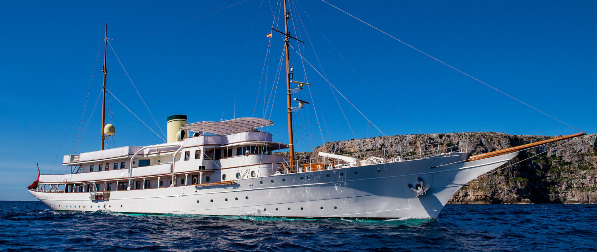 Glide into Greece this summer on a Haida 1929 charter photo 1