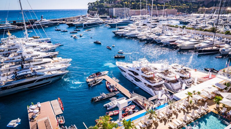 Edmiston at the 2019 Monaco Yacht Show