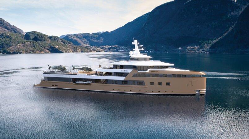 77m La Datcha joins the Edmiston charter fleet