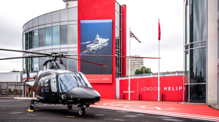 Edmiston London Heliport