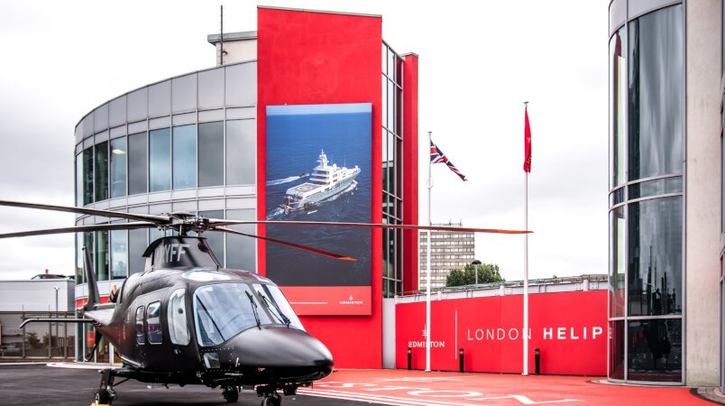 Edmiston partners with the London Heliport