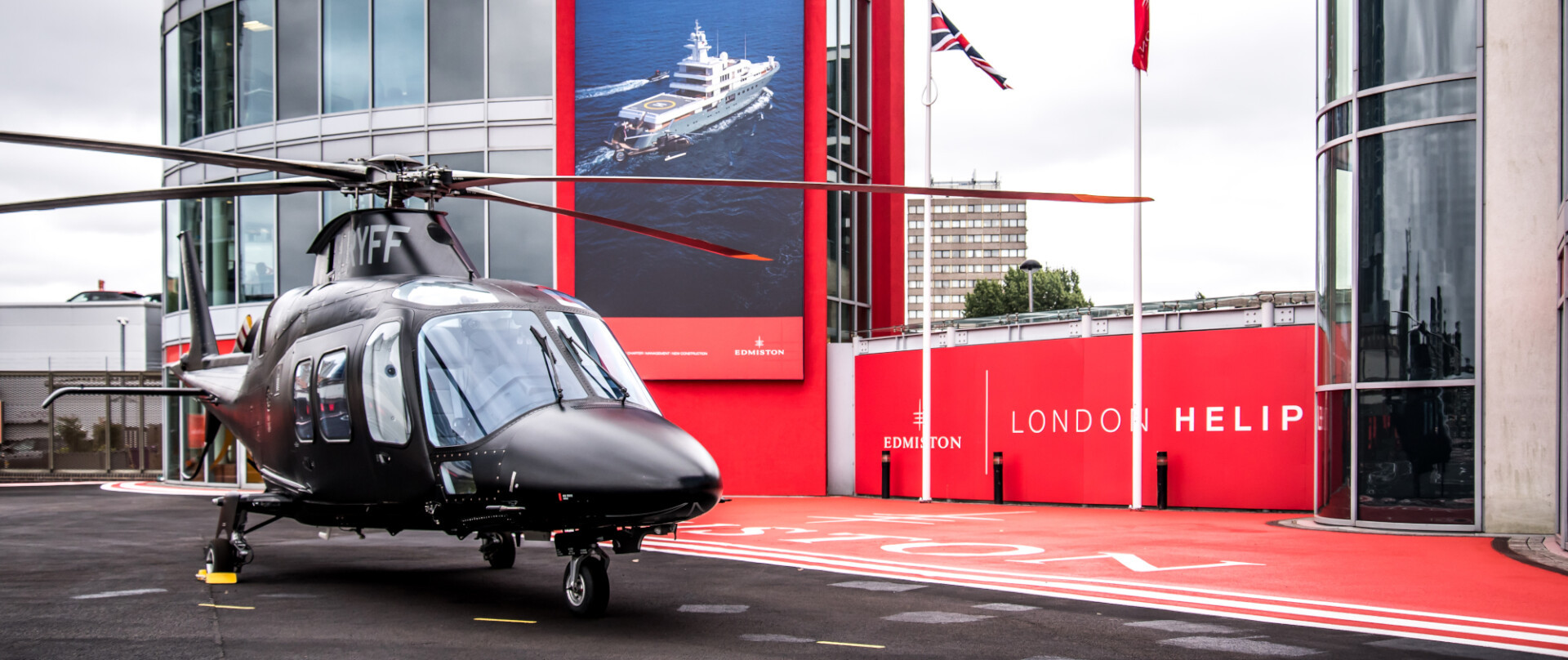 Edmiston partners with the London Heliport photo 1