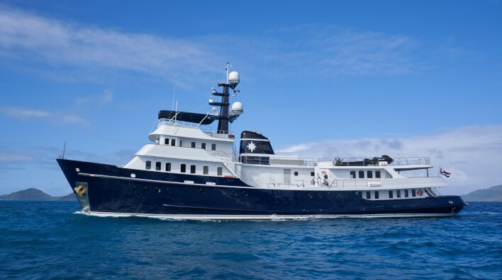 Asteria joins the Edmiston charter fleet