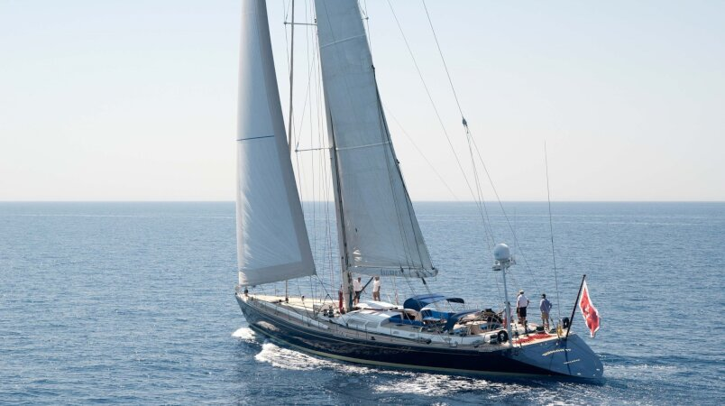 Baiurdo VI, in Barcelona for the winter and available for inspection