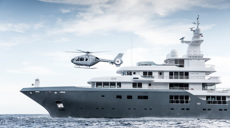 Planet Nine - available for event charters in 2020