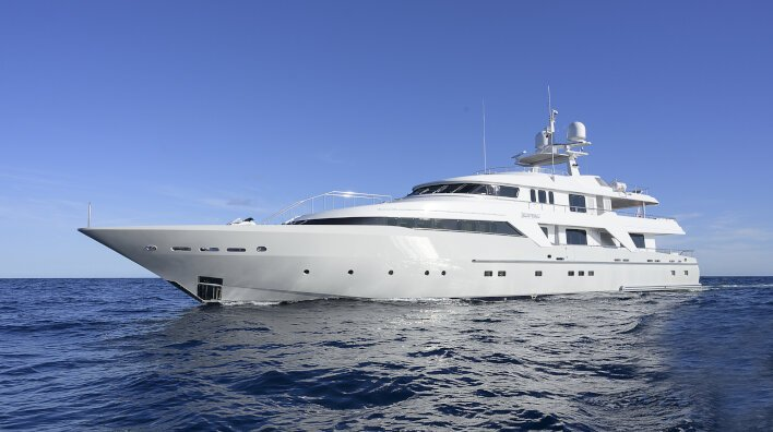 Deep Blue II joins the sales fleet fully refitted...