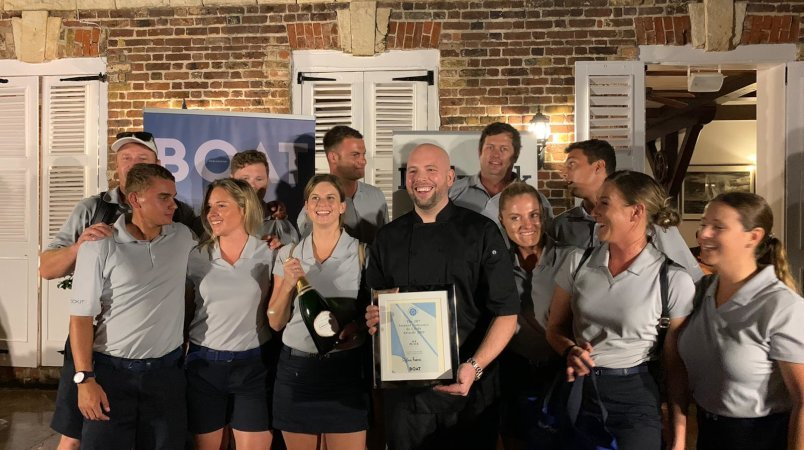 Rock.it, chef wins big at the Antigua Charter Yacht Show
