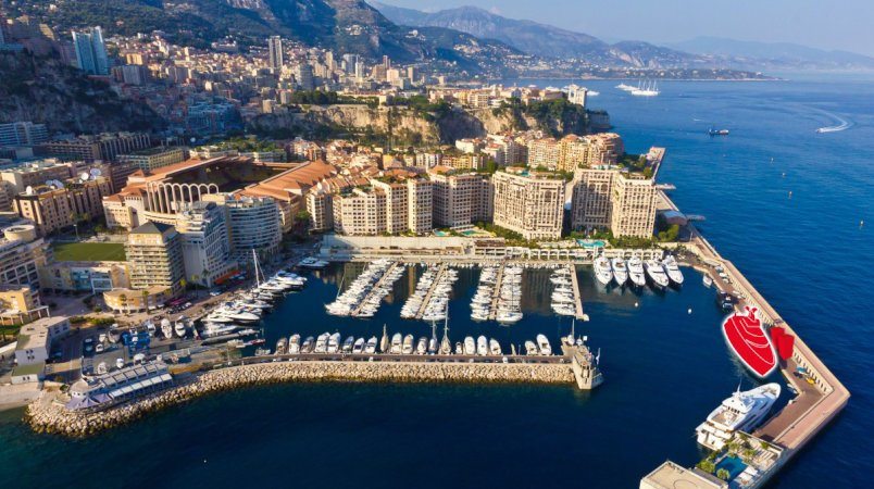 Rare 65m berth for sale in Cap D'ail, France