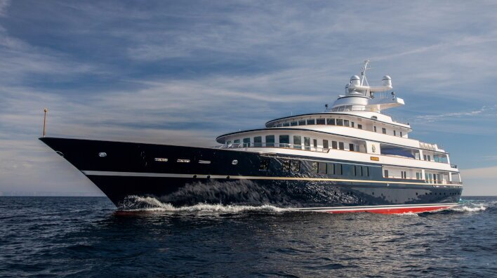 Leander G, now for sale with Edmiston
