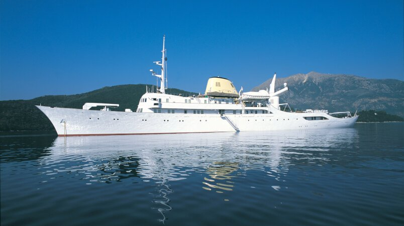 The legendary superyacht CHRISTINA O is now for sale