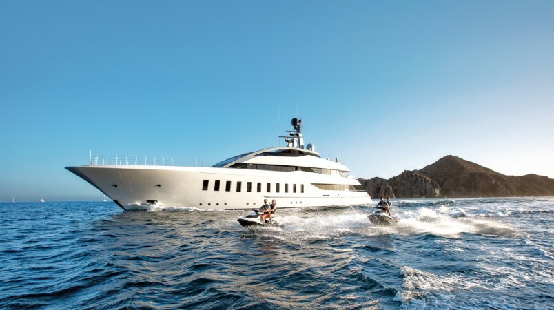 Superyachts that you can charter in the Mediterranean right now