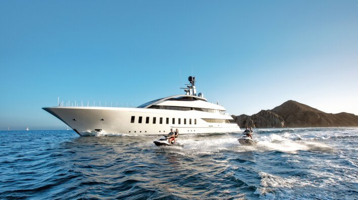 Superyachts that you can charter in the Mediterranean right...