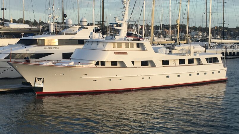 Buckpasser, for sale and available for inspection in Provincetown