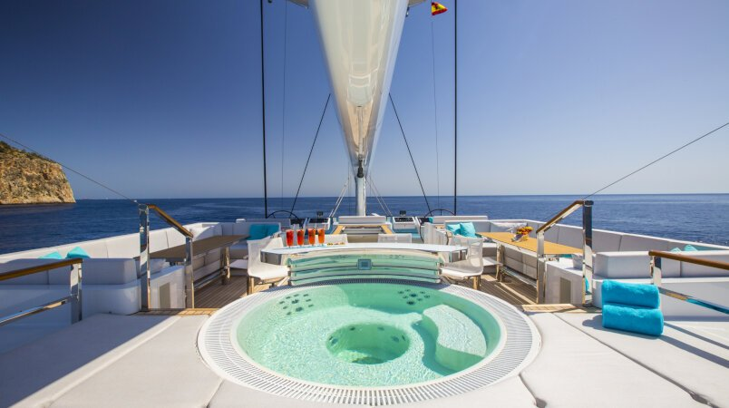 Best sailing yachts available to charter in the Mediterranean