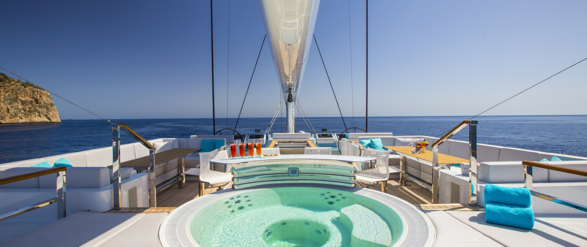 Best sailing yachts available to charter in the Mediterranean photo 1