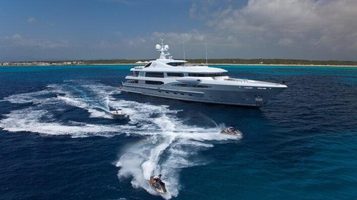 Edmiston sells half of the industry's largest yachts...