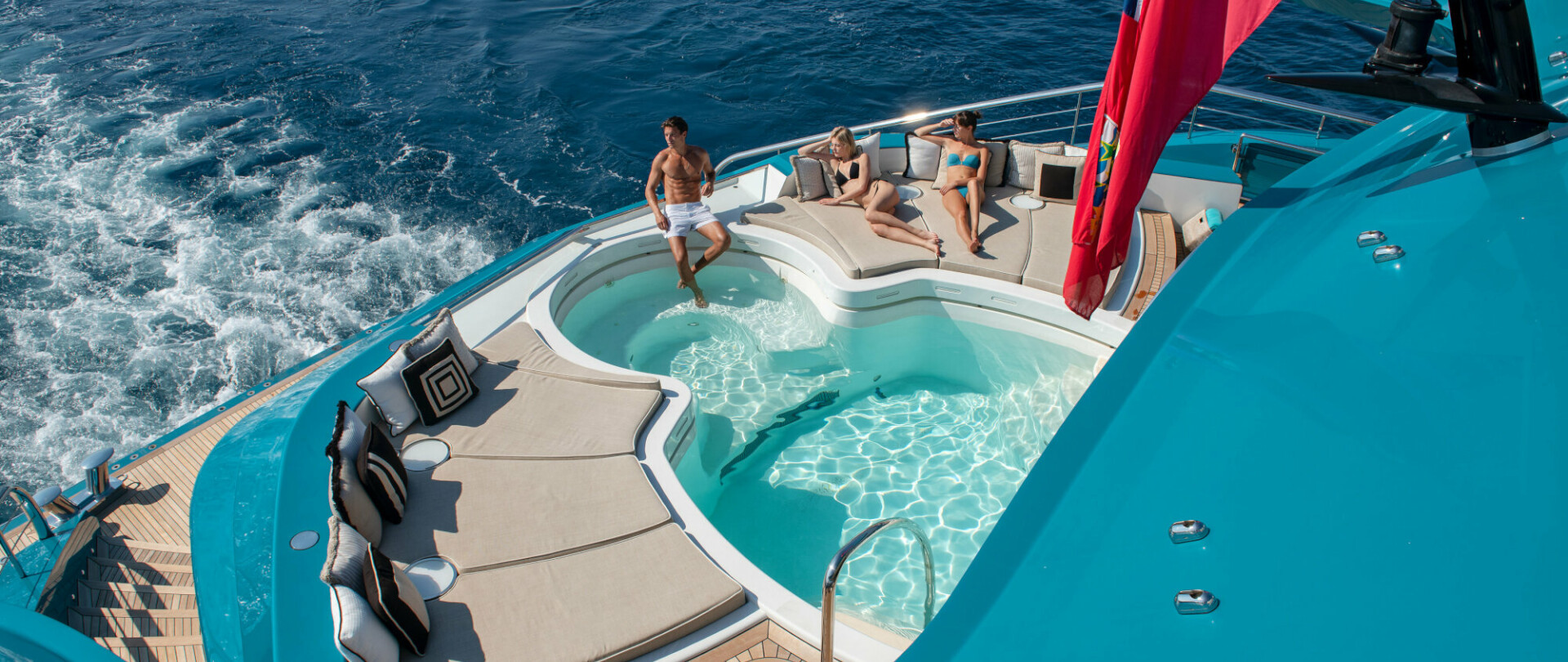 Yachts with Pools and Hot Tubs photo 1