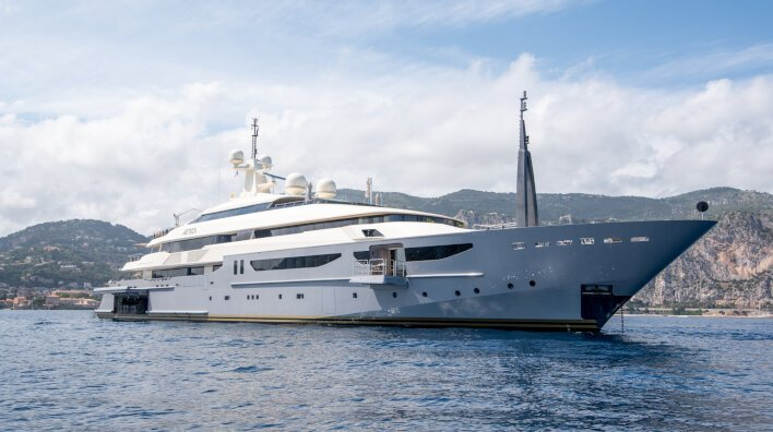 Azteca becomes the largest yacht ever to accept Bitcoin as ...