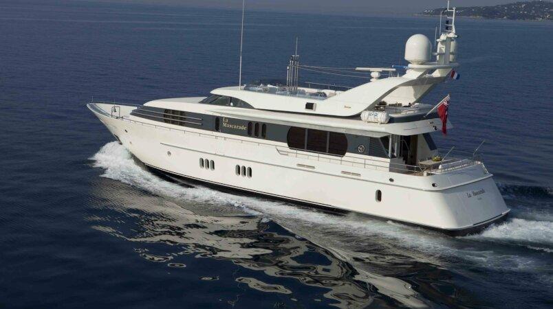 LA MASCARADE Yacht Sold