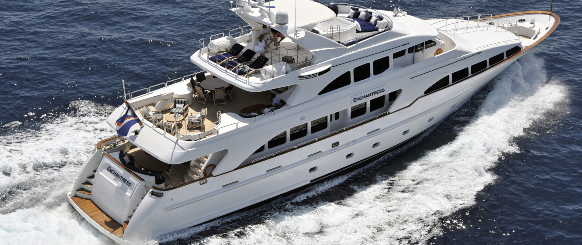 Charter ENCHANTRESS in the East Med photo 1