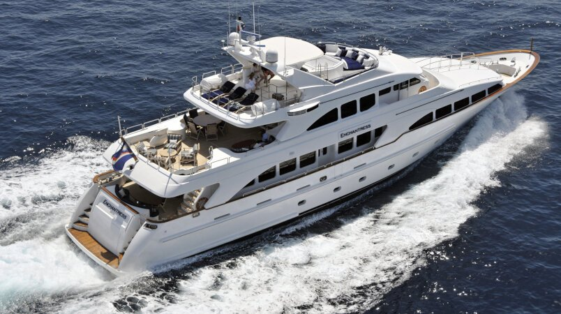 Charter ENCHANTRESS in the East Med