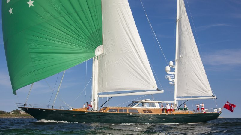 34 metre Sailing Yacht KEEWAYDIN For Sale