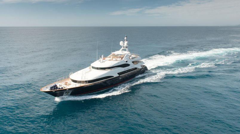 BLUE VISION Available for Mediterranean Charters