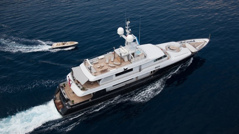 MARIU Available for Summer Charters in the East Med