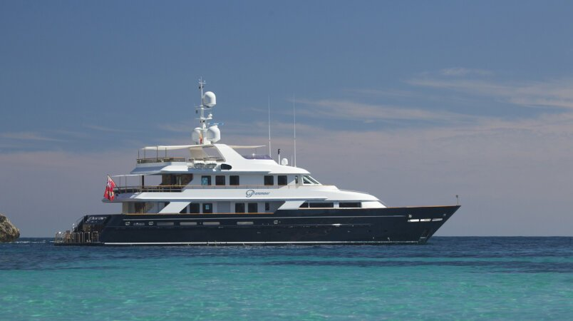 PARAMOUR Available for Event Charters